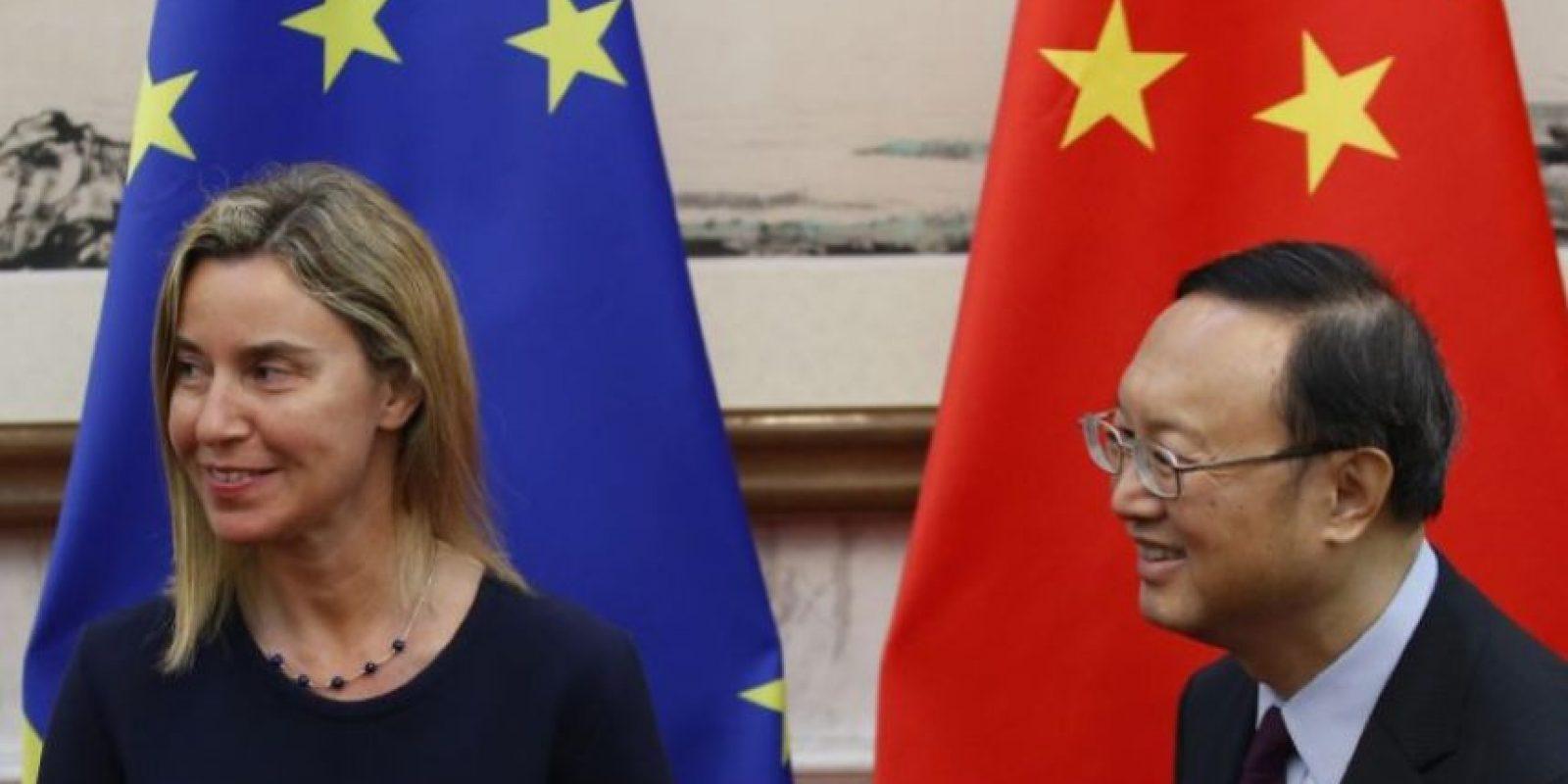 Es Alta Representante de la Unión Europea para Asuntos Exteriores y Política de Seguridad. Ocupa el puesto 36 de la lista y tiene 42 años. Foto:Getty Images