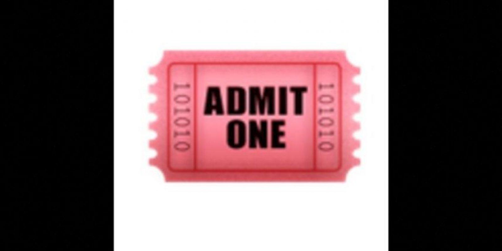La invitación al cine Foto:Vía emojipedia.org