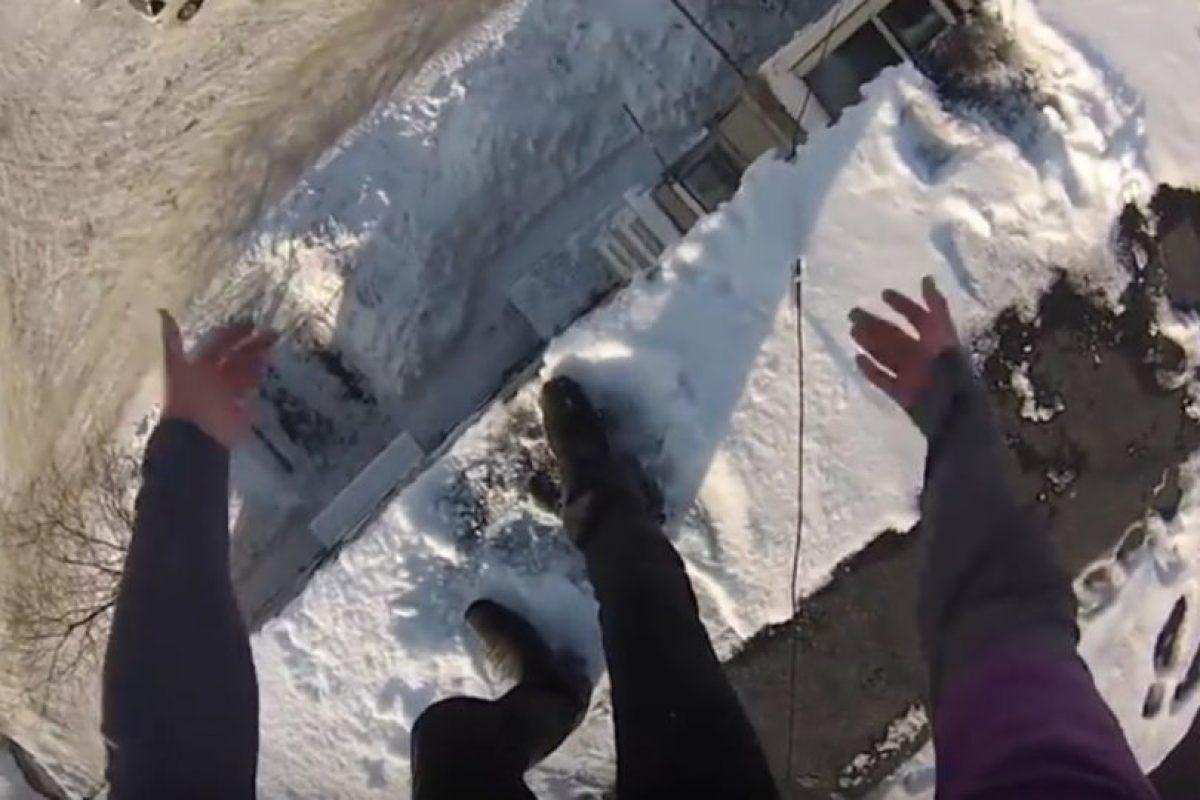 A continuación podrán ver algunos saltos impactantes Foto:Vía Youtube