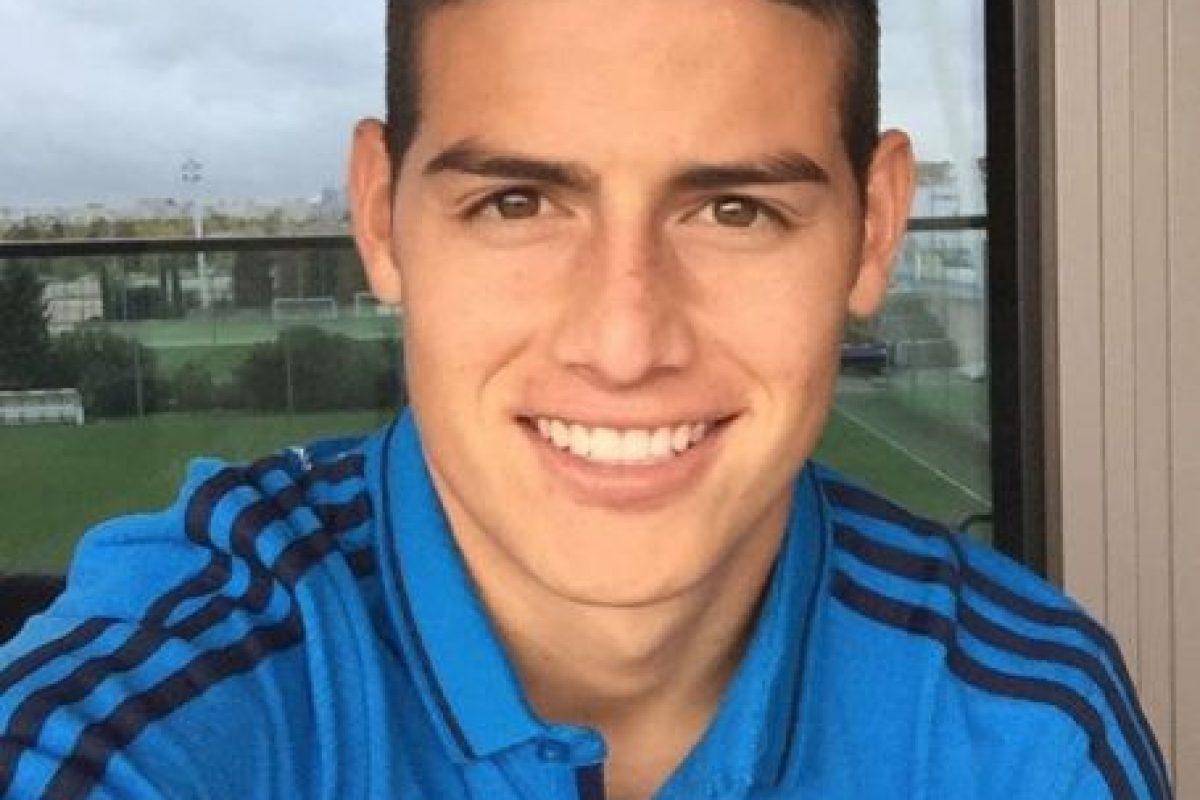 El equipo en el que supuestamente estaba interesado James era el Real Santander. Foto:Vía Instagram/@jamesrodriguez10