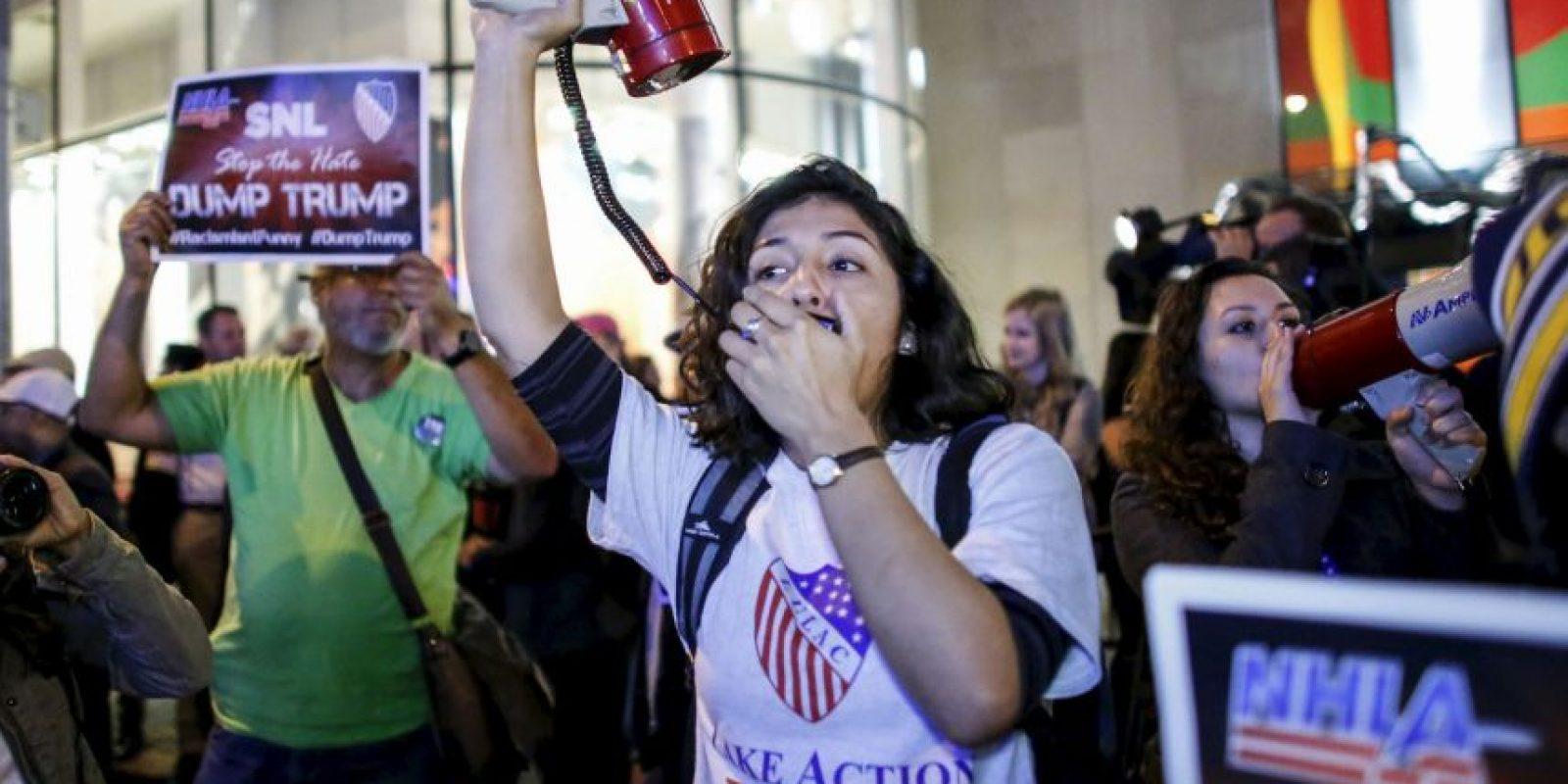 Manifestantes han solicitado que se cancele su participación. Foto:AFP