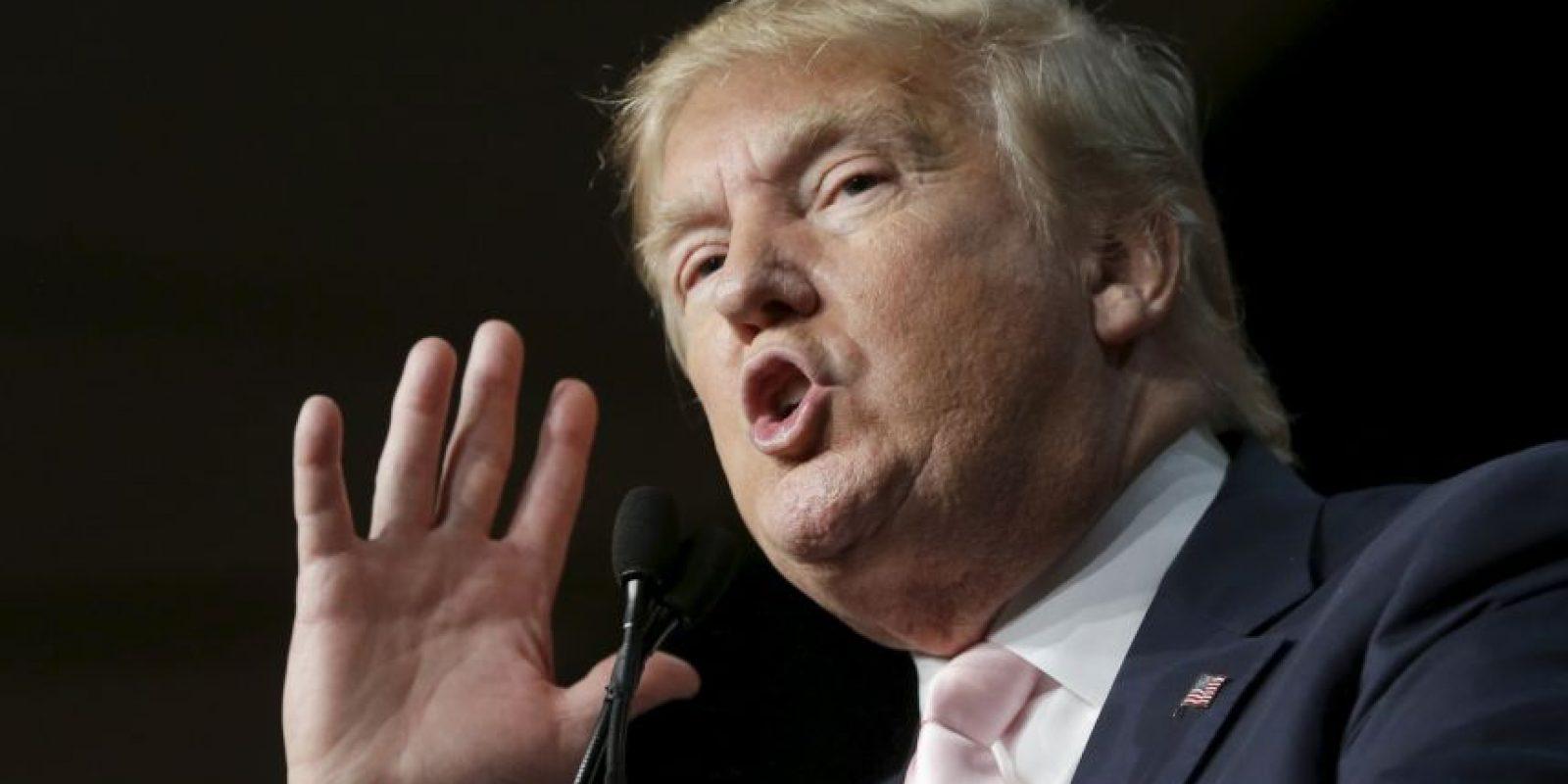 """El político del Partido Republicano """"modernizó"""" parte de su estilo. Foto:AP"""