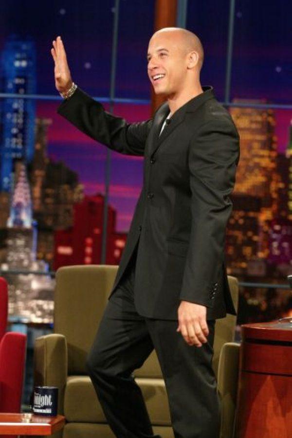 Y tras alcanzar la fama en el cine, comenzó a trabajar en sus músculos. Foto:Getty Images