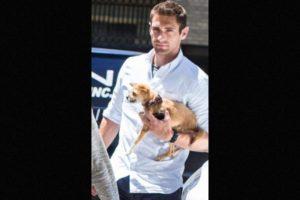 Este hombre cautivó a miles de fans, luego de acompañar a la actriz por las calles de Nueva York Foto:Grosby Group