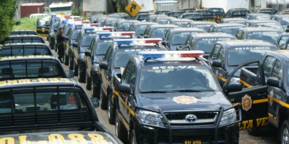 Ministra de Gobernación garantiza combustible para autopatrullas hasta fin de año