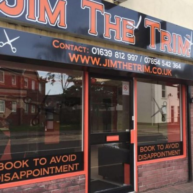 Aquí la barbería de James Foto:Vía Facebook/Jimthetrim254britonferry