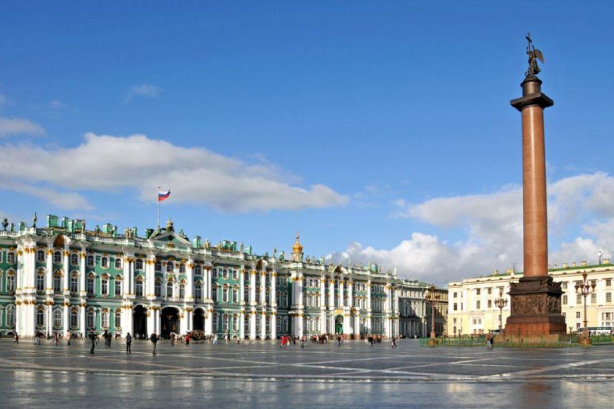Se puede conocer su capital, Moscú, pero también su ciudad más europea, San Petersburgo. Foto:Vía flickr.com