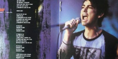 """Cuando salió el unplugged de """"La Ley"""", muchos quisieron copiarle este peinado. Foto:vía MTV"""
