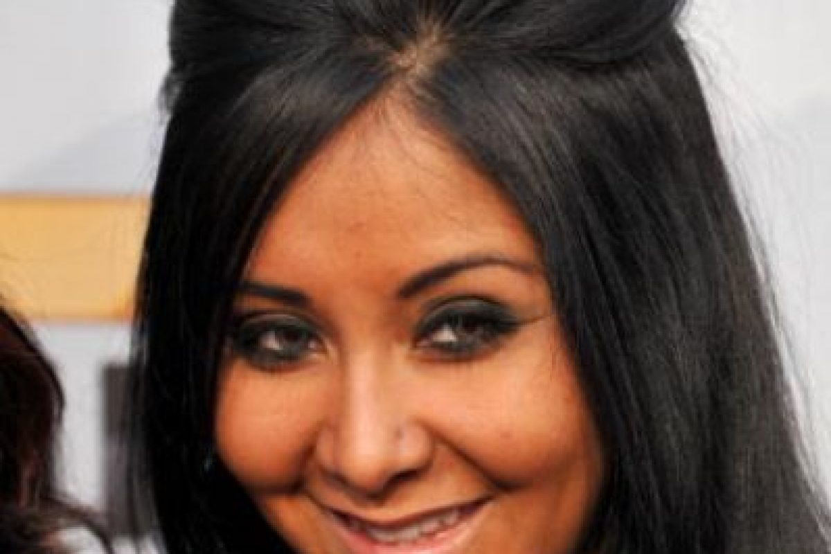 "El ""puff"" tacky de Snooki. Foto: vía Getty Images"