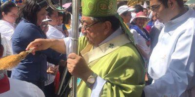 """Arzobispo Óscar Vian: """"La estrategia que están utilizando muchos políticos es enfermarse"""""""