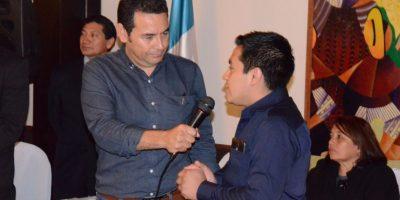 Jimmy Morales confirma que no ha nombrado a Gobernadores