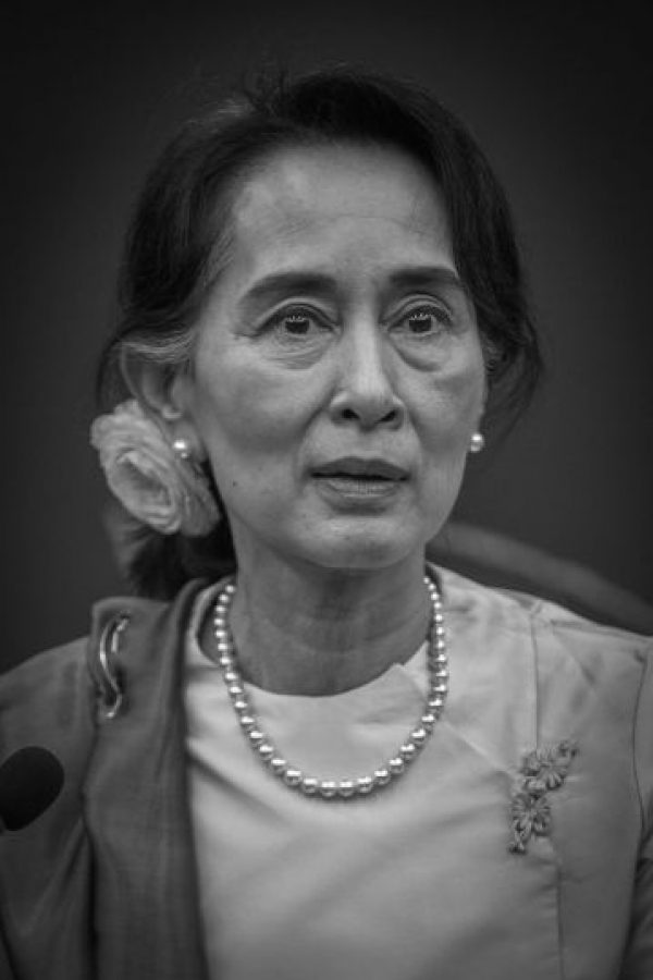 Es una política y activista de Myanmar. Además es una figura emblemática de la oposición a la dictadura de este país. Foto:Wikicommons