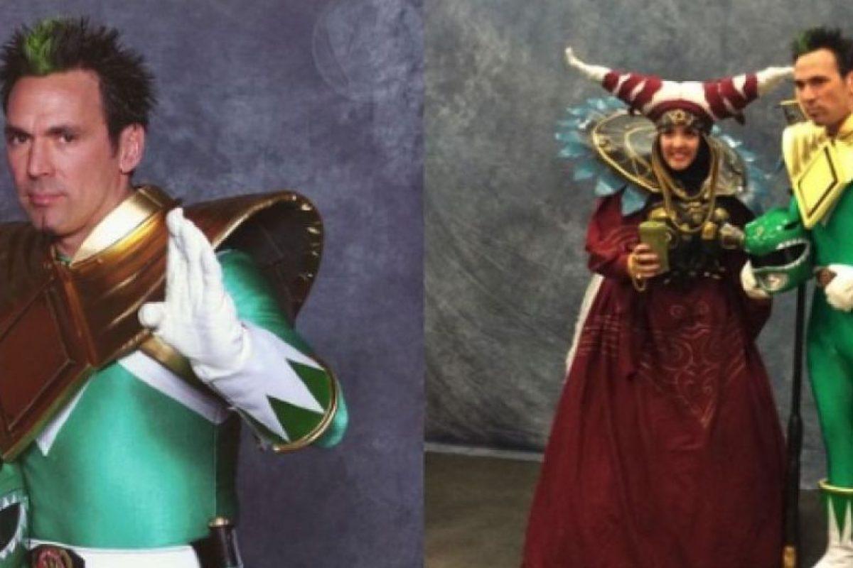 Frank es un actor y luchador de artes marciales mixtas. Actualmente promueve el personaje del Power Ranger verde en diversas convenciones. Foto:Tumblr