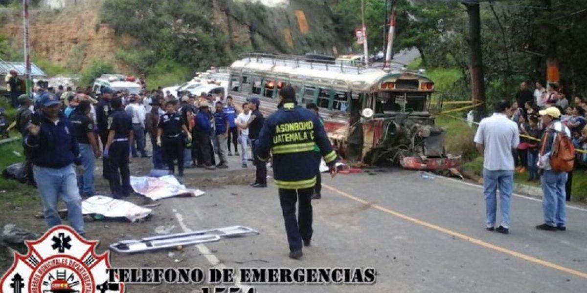 Accidente de tránsito deja al menos siete muertos en Quiché