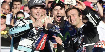El mejor día en la vida del campeón mundial de motovelocidad captado en 15 imágenes