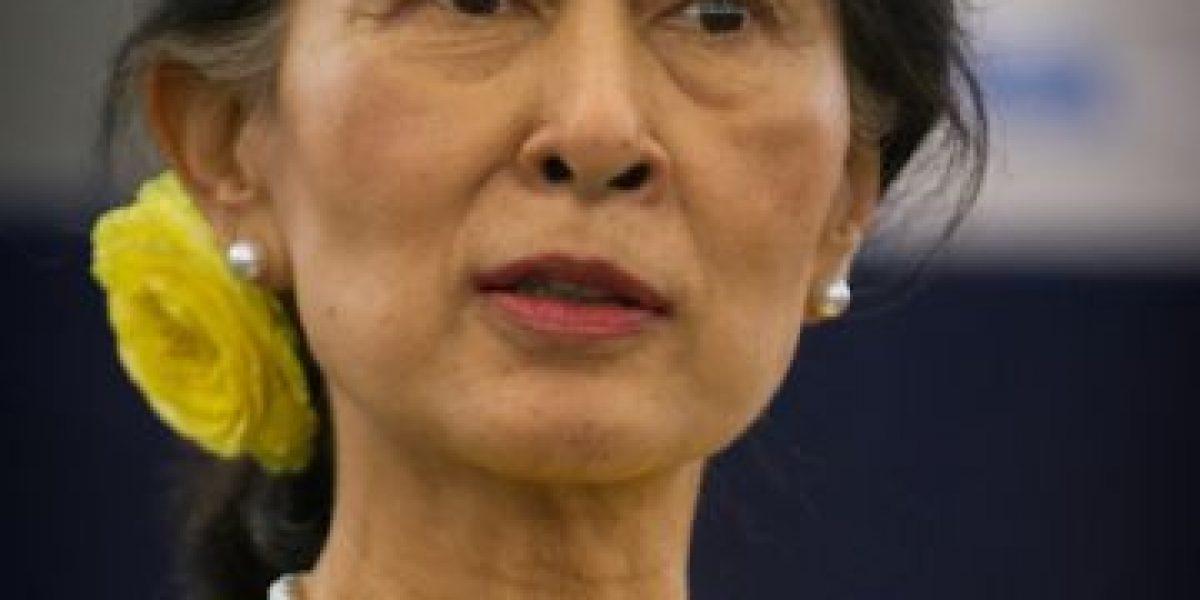 Fotos: Ella es la favorita para ganar las elecciones históricas a la presidencia de Myanmar
