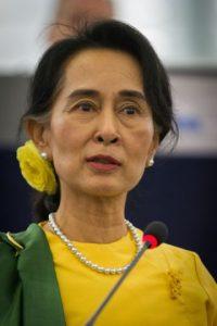 Aung San Suu Kyi nació el 19 de junio de 1945. Foto:Wikicommons