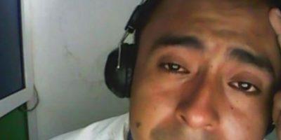 Video: Mató a su exnovia y lloró por ella en Facebook