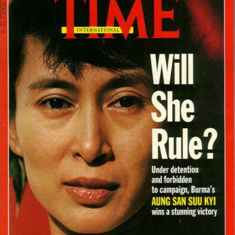 """Ella ha sido 7 veces portada de la revista estadounidense """"TIME"""", publicación que suele presentar a las principales figuras del planeta. Foto:Vía TIME"""