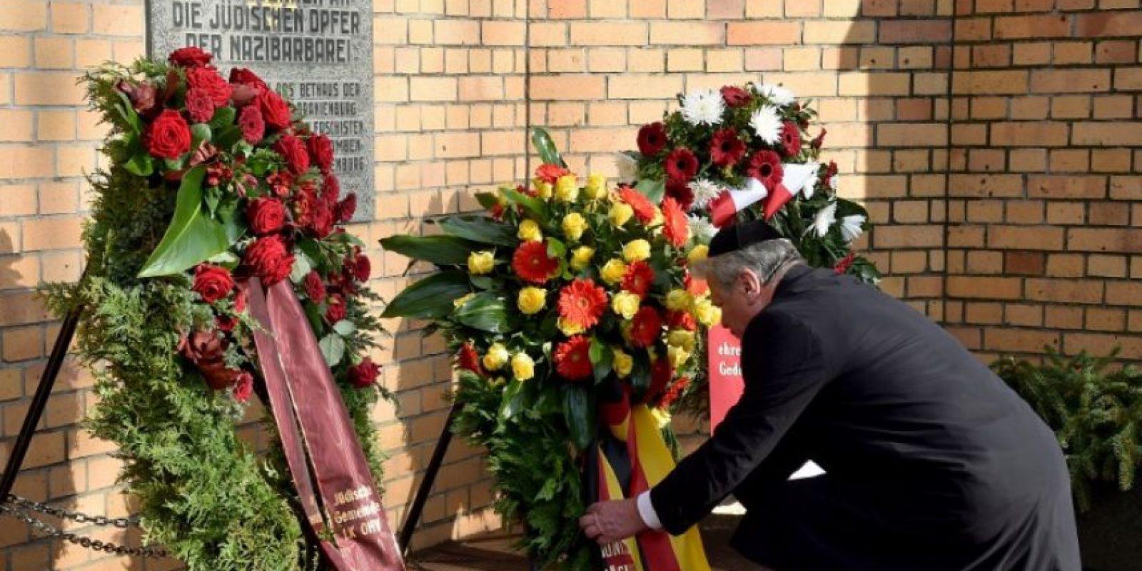 En otros sitios se recuerda a quienes murieron tratando de cruzar el muro Foto:Getty Images