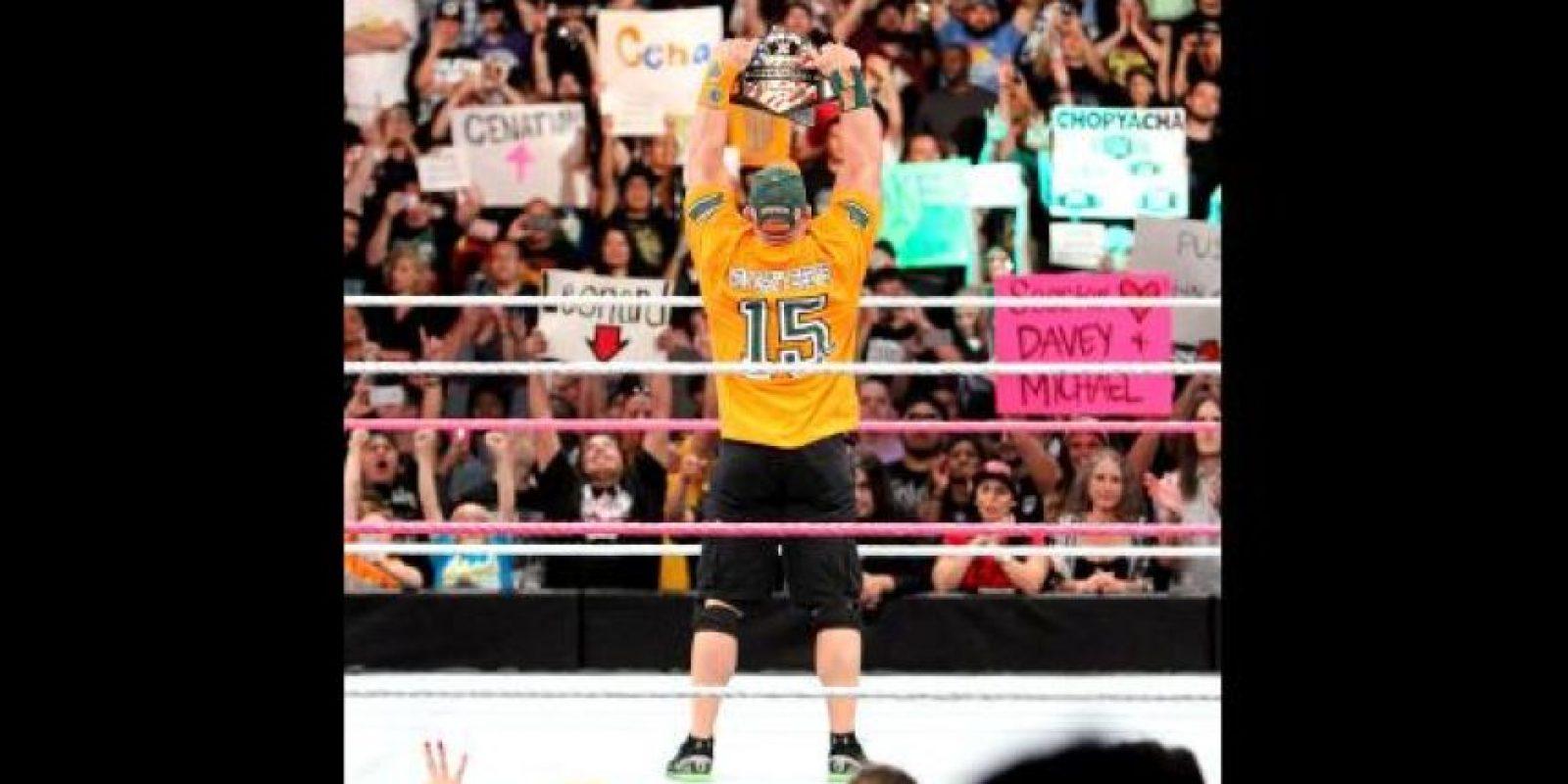 En los útimos tiempos, Cena ha sido el rostro principal de la compañía Foto:WWE