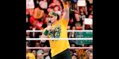 John Cena es el máximo ganador del Campeonato de Peso Pesado de la WWE Foto:WWE