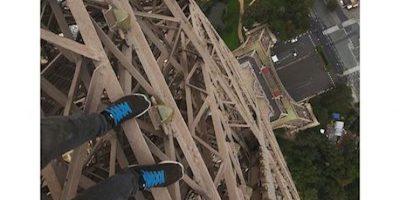 """Video: Joven """"Spiderman"""" burló la seguridad para escalar la Torre Eiffel"""