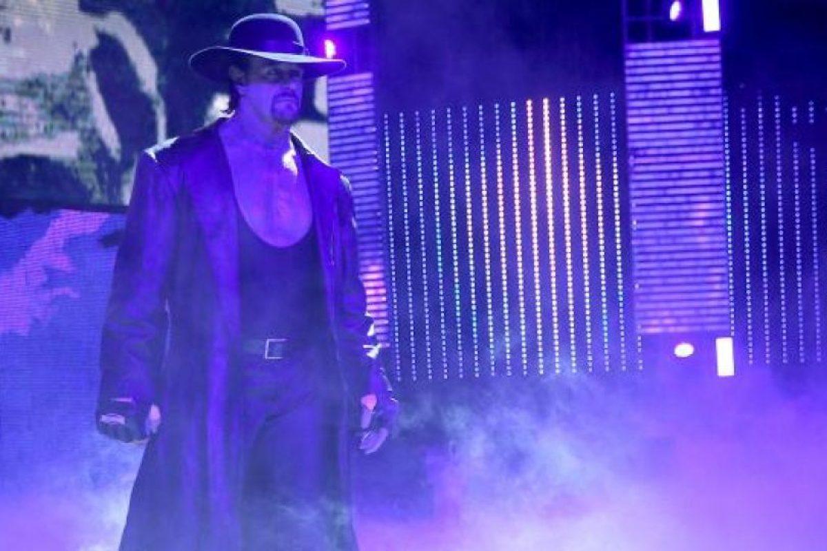"""""""Taker"""" es el máximo ganador en Wrestlemania Foto:WWE"""