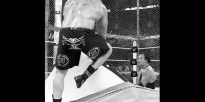 """Brock Lesnar fue el único que ha vencido a Undertaker en la """"Vitrina de los Inmortales"""" Foto:WWE"""