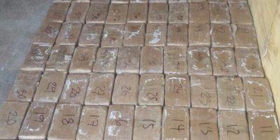 MP encuentra más de 350 kg de cocaína en puertas blindadas