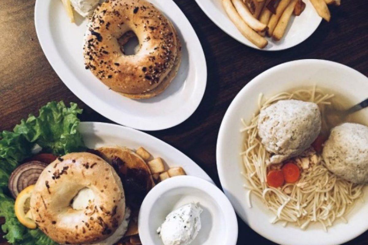 ¿Amantes de los bagels? Foto:vía instagram.com/bigbootyfoodies