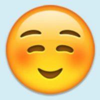 Satisfacción, felicidad o cara de niño bueno: Su verdadero uso es para coquetear con alguien. Foto:Pinterest