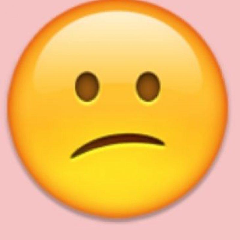 Decepción o tristeza: Pero se debe emplear para expresar confusión. Foto:Pinterest