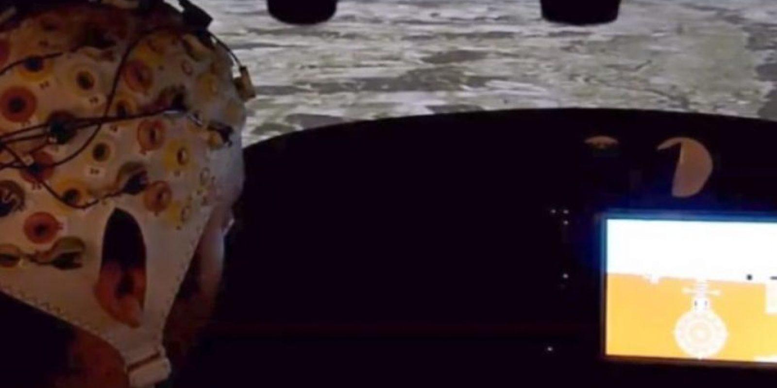 3. Este es el casco para pilotar aviones con la mente Foto:YouTube – Archivo