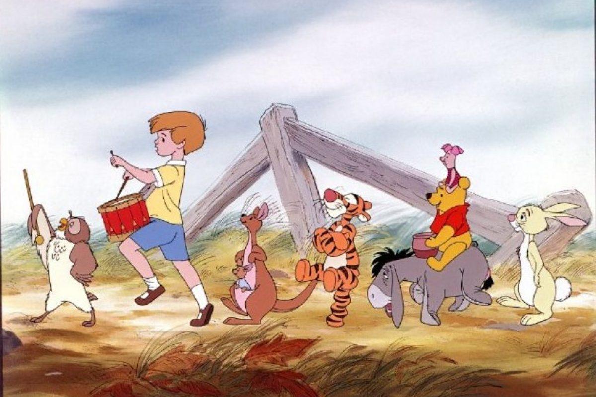 """""""Piglet"""", """"Tigger"""", """"Conejo"""", """"Igor"""" """"Christopher Robin"""", """"Rito"""", """"Cangu"""" y """"Búho"""" Foto:Walt Disney"""