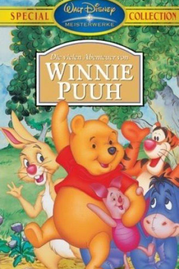 """""""Winnie"""" vive en el bosque de los """"Cien Acres"""". Foto:Walt Disney"""