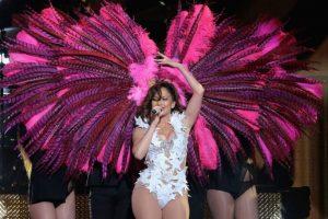 """Y puso a bailar a todos con la canción """"Adrenalina"""" Foto:Getty Images"""