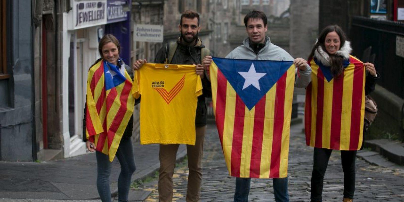 Cataluña representa el 19.5% de la economía de España Foto:Getty Images