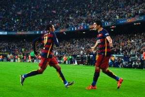 Neymar y Luis Suárez Foto: Getty Images