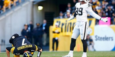 Ben Roethlisberger se lesiona el tobillo Foto: Getty Images