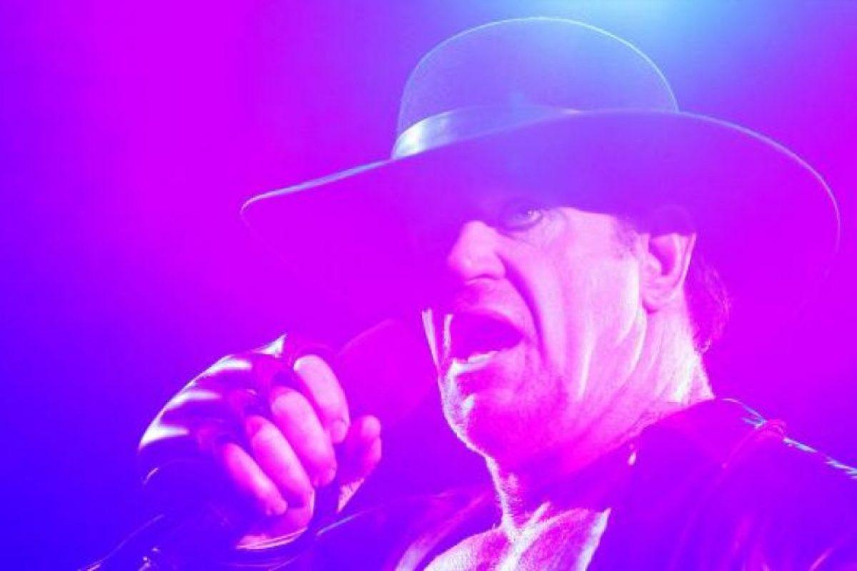 Undertaker es una leyenda viviente Foto:WWE