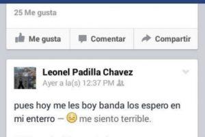 Leonel Padilla tenía 20 años. Foto:Vía facebook.com/besepianoswoan