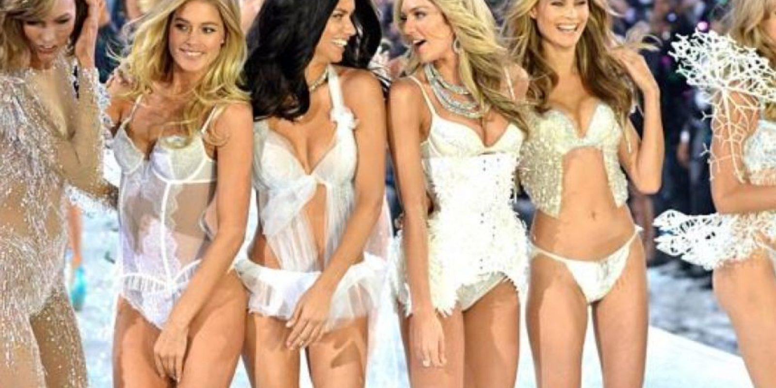 Casi diosas. Ángeles, de hecho. Foto:vía Getty Images