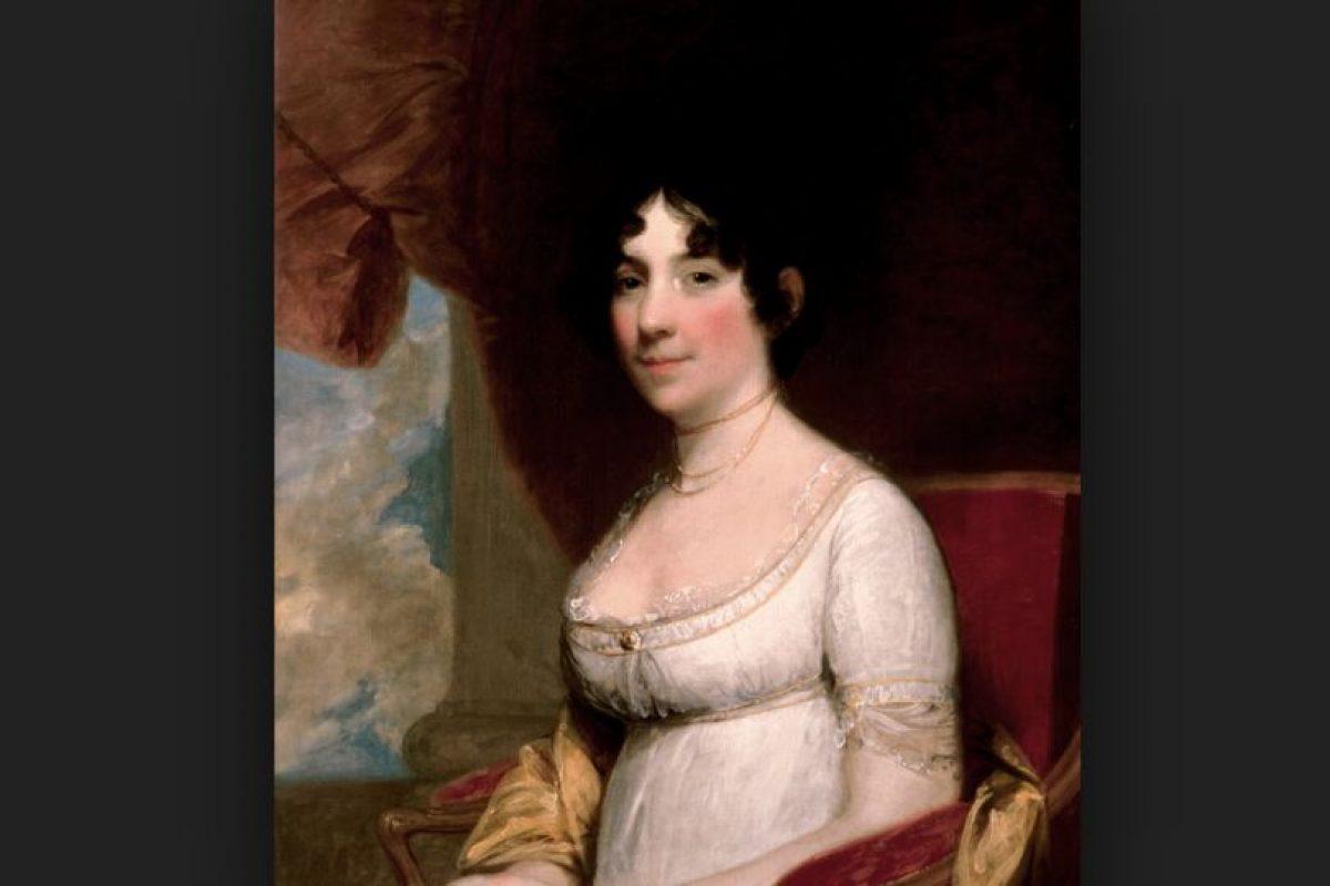 La primera dama Dolley Madison, espantó a un par de jardineros que pretendían modificar el lugar donde ella había colocado sus rosales antes de fallecer. Foto:Vía wikipedia.org