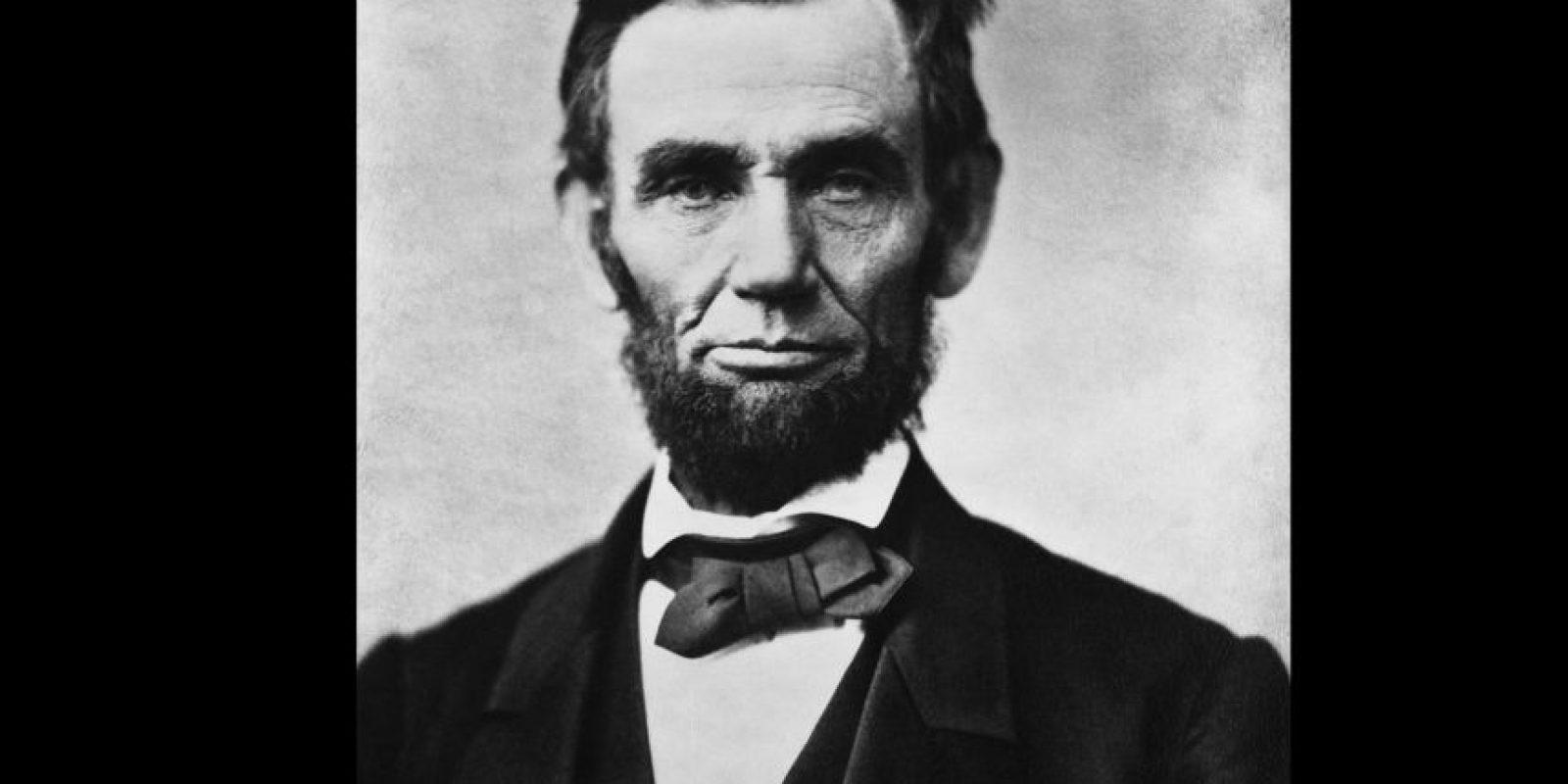 Lincoln es el fantasma que más gente aseguró haber visto en la Casa Blanca. Foto:Vía wikipedia.org
