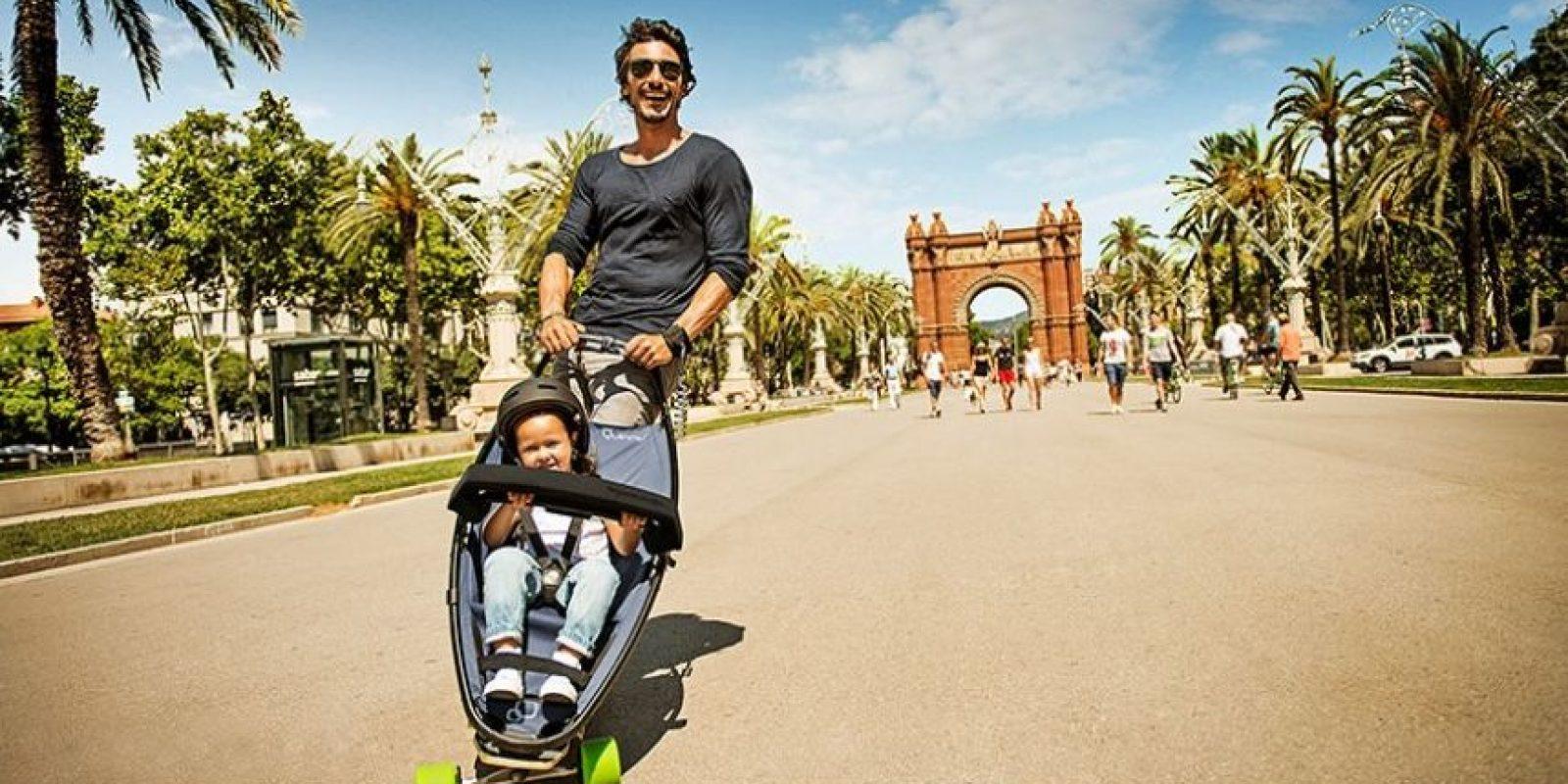 Crean artículos que ayuden a superar todos los obstáculos urbanos. Foto:Vía Quinny.com