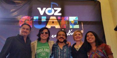 """""""Voz Guate en Antigua"""" un tributo a la música emergente en Guatemala"""