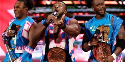 7. The New Day Foto:WWE