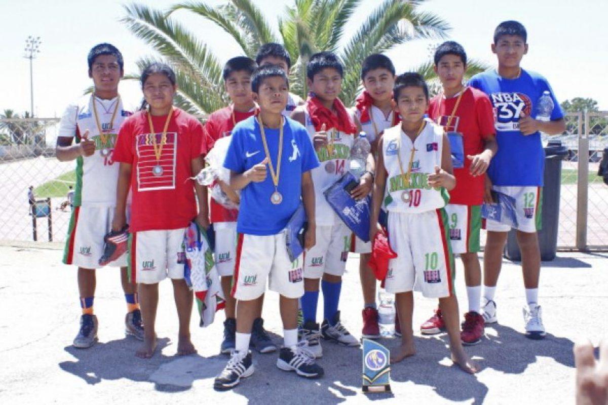 De este lugar son originarios los niños triquis que conforman el equipo de baloncesto que ha representado a México en varias competencias internacionales. Foto:Getty Images