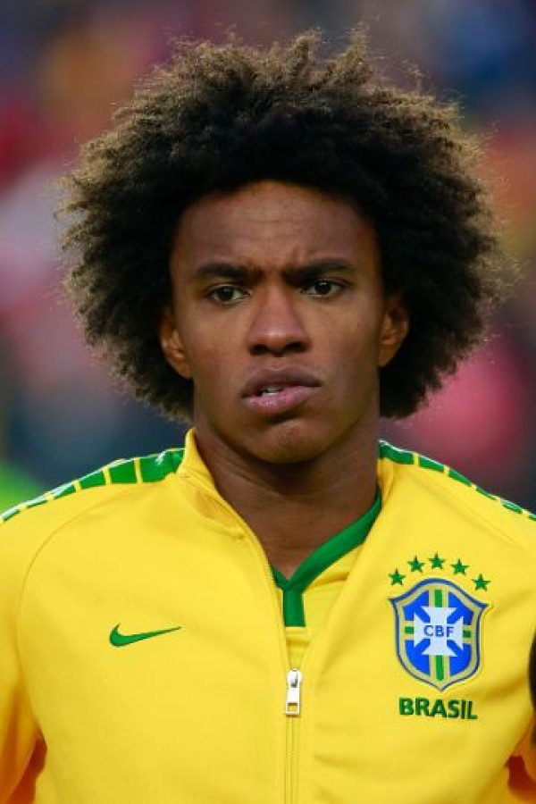 4. Willian (Brasil) Foto: Getty Images